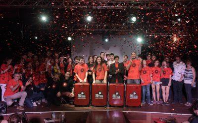 L'equip d'alumnes de l'Escola Pia Sarrià, guanyadors de l'Audi Creativity Challenge